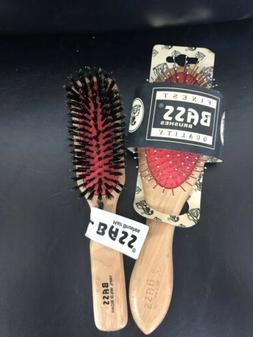 Bass Brushes The Green Brush Professional Bamboo Handle Hair
