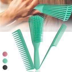 The New Detangler Hair Brush Set Comb Anti-Static Scalp Comb