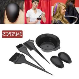 Tint Hair Coloring Ear Cover Hair Brush Comb Hairdressing Ha