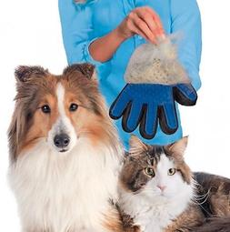 touch pet grooming glove brush dog cat