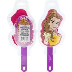 Townley Girl Disney Princess Belle Molded Detangling Hair Br