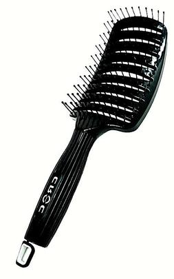 Croc Turbo Ion Vent Quick Dry Hair Brush Black Color  --  FR