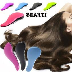 Unisex Magic Handle Tangle Detangling Comb Shower Hair Brush