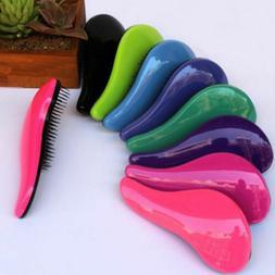US STOCK Magic Handle Tangle Detangling Comb Shower Hair Bru