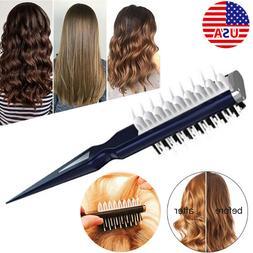 US Volumia Style Comb Instant Hair Volumizer Comb Sharks Bac