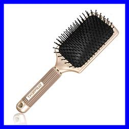 Velvet Touch Paddle Brush SUPRENT Detangling Brush for Hair