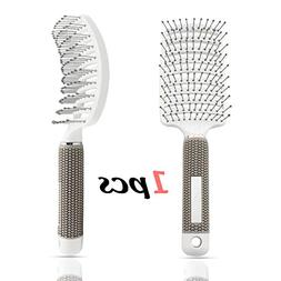Vent Brush,Flex Vented Detangling Styling Hair Brush for Lon