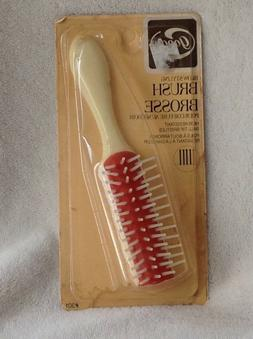 Vtg 1975 1982 Goody Blow Styling Hair Brush Travel Size Ball