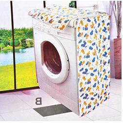 Washing Machine Covers - Washing Machine Zippered Dust Cover