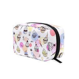 Watercolor Cake Decorating Supplies Cosmetic Bag Storage Bag