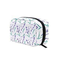 Beautiful Watercolor Lavender Petals Decorations Cosmetic Ba