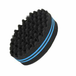 Wave & Twist Barber Hair Brush Foam Sponge for Dread Locs Af
