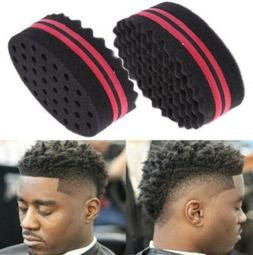 Wave Barber Hair Brush Sponge Tool Dreads Afro Locs Twist Cu