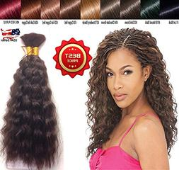 Hot selling Wet N Wavy Bulk hair, Top Quality Synthetic Fibe