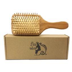 Natural Wooden Bamboo Hair Brush For Women,Men,Girl,Boy Hair